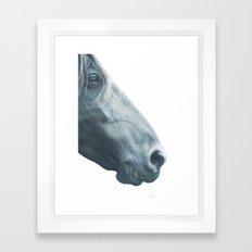 Horse head - fine art print n° 2 Framed Art Print