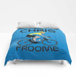 Chris Froome Yellow Jersey Comforters