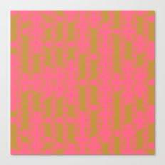 Myth Syzer - Neon (Pattern #23) Canvas Print