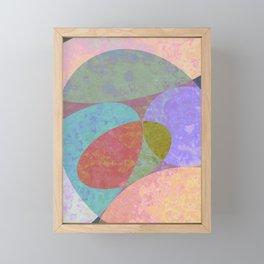 Stones 2 Framed Mini Art Print