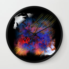 """""""Living Flames"""" - Reformation Designs Wall Clock"""