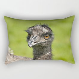 Tweakle The Emu Rectangular Pillow