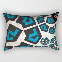 Huellas en la Ciudad Rectangular Pillow