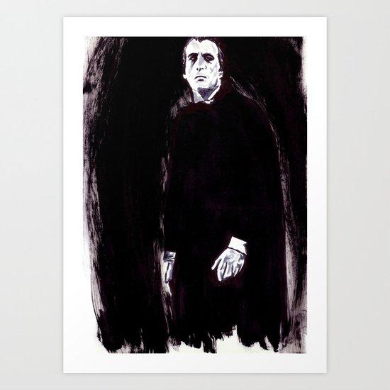 Count Dracula Art Print