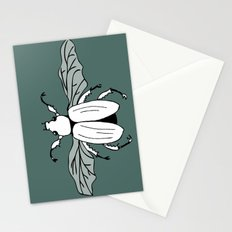 It's a beetle and it has wings. Stationery Cards