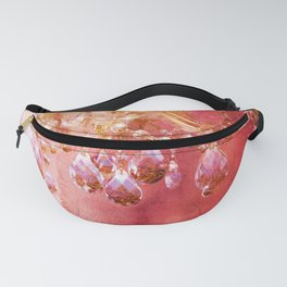 Crystal Chandelier First Blush Fanny Pack