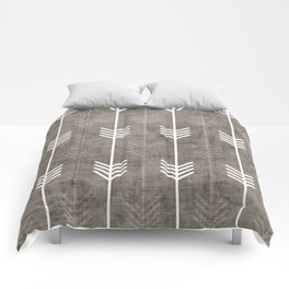 dirty arrows Comforters