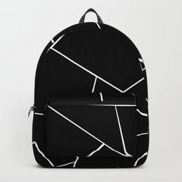 Black White Geometric Glam #2 #geo #decor #art #society6 Backpack
