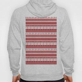 Nordic fair isle Christmas pattern Hoody