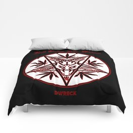 Hot Dabs For Satan Comforters