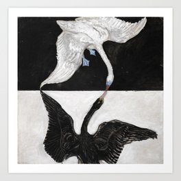 Hilma af Klint, The Swan, No. 1 Art Print