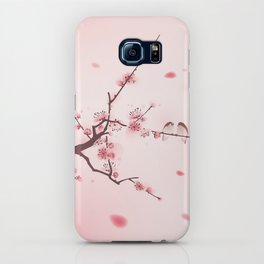 Oriental cherry blossom in spring 005 iPhone Case