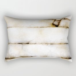 Weathered Alabaster Rectangular Pillow