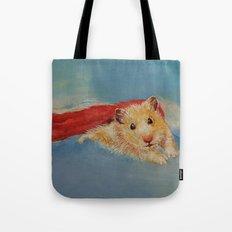 Hamster Superhero Tote Bag