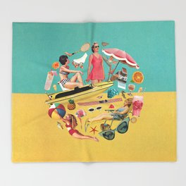 Out of Office Throw Blanket