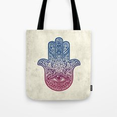 Talk To The Hamsa Tote Bag