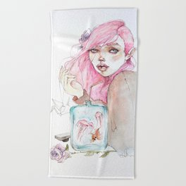 Ocean Lover Beach Towel