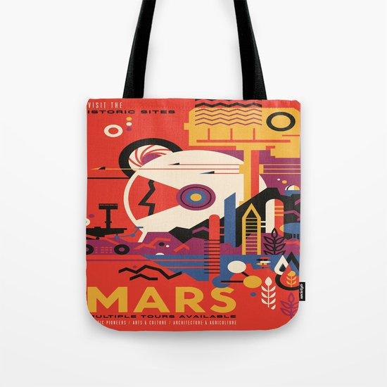 Mars Tour : Space Galaxy Tote Bag