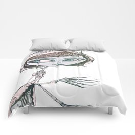 mrs wolf Comforters
