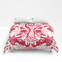 Double Dragons Comforters