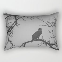 Break in the Rain Rectangular Pillow