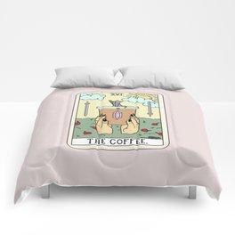COFFEE READING Comforters