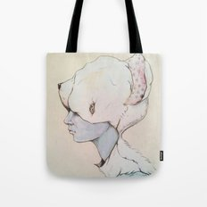 Portrait E Tote Bag