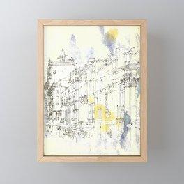 Nothing,my dear, endures Framed Mini Art Print