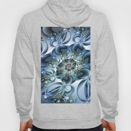 Dynamic Spiral, Abstract Fractal Art Hoody