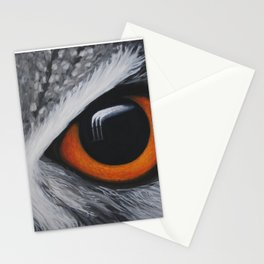 Inaction - Owl Stationery Cards