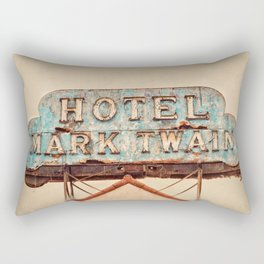 Hotel Mark Twain, Hollywood Rectangular Pillow