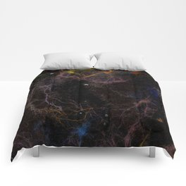 Abstract Nebula K2 Comforters