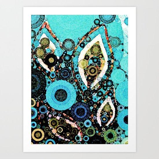 :: Paisley Peacock :: Art Print