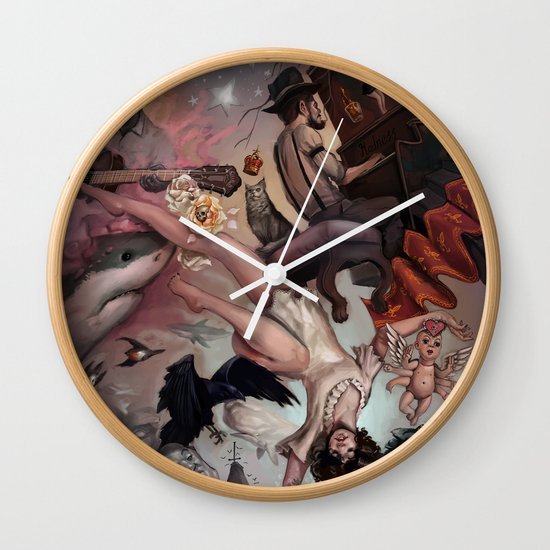 Theater of Lucid Dreaming Wall Clock