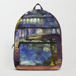 The Headless Horseman Bridge Van Gogh Backpack