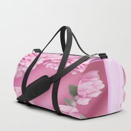 Pink Peonies In Frame #decor #society6 #buyart Duffle Bag