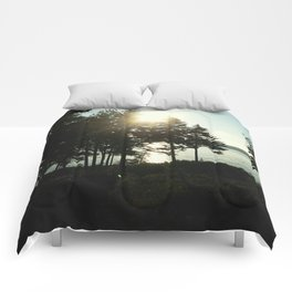 maine pines Comforters