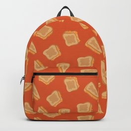 Grilled Cheese Print Backpack