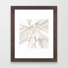 White Night Framed Art Print