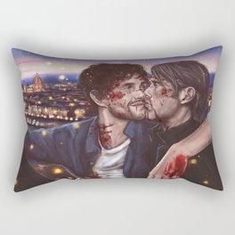 Love you in Florence Rectangular Pillow