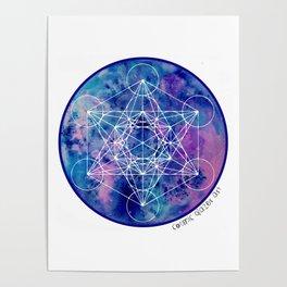 Zenetae Planet Metatron Poster