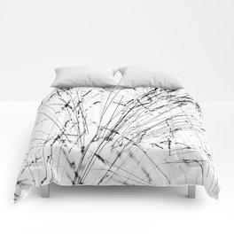 Winter Grasses Comforters