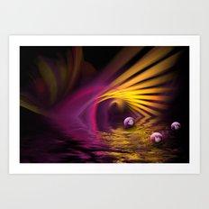 Lightning Fantasy Art Print