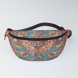 Bidjar Antique Kurdish Northwest Persian Rug Print Fanny Pack