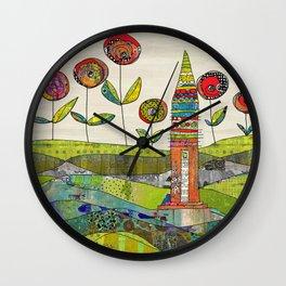 Happy Day. Wall Clock
