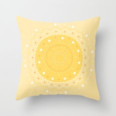 70's vibe Throw Pillow