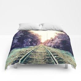 train TRACKS : Fond Dreams Comforters