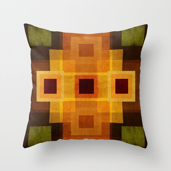 Textures/Abstract 95 Throw Pillow