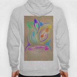 Colorful Lotus flower - uma releitura Hoody