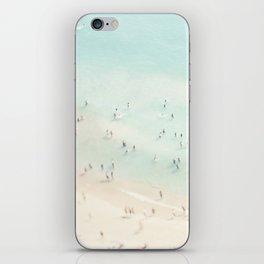 beach summer fun iPhone Skin